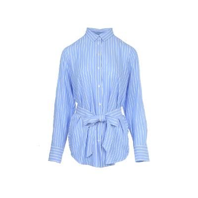 ribbon point stripe pattern shirt